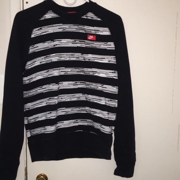 Nike men's AW77 speed stripe crew sweatshirt